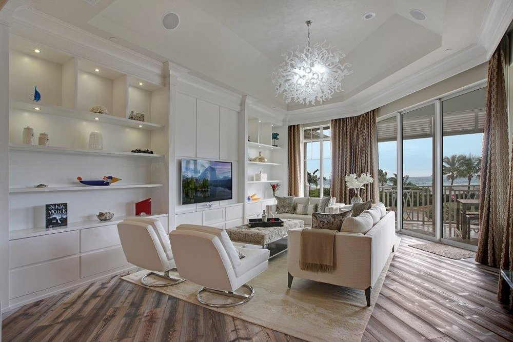 Custom Condominium | Delray Beach, FL  Architect | Randall Stofft  Interior Designer | Christy Brown   View Project