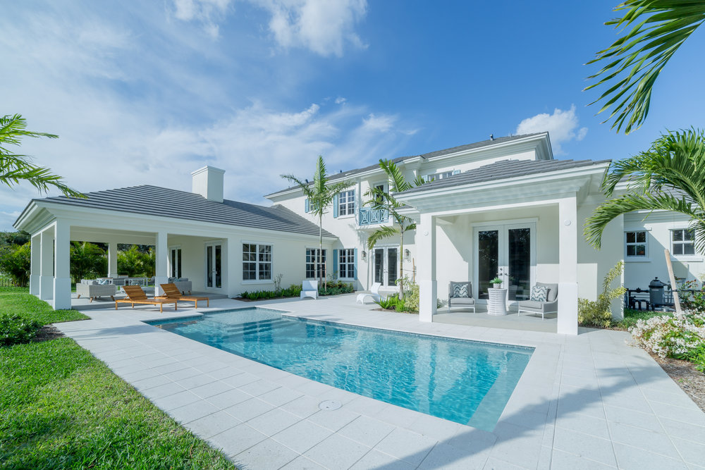 Custom Home | Delray Beach, FL  4 Beds | 4.5 Baths |4,900 SF  Architect | Richard Jones  Interior Designer | Leighton Design Group   View Project