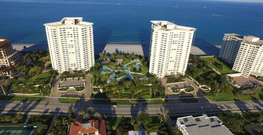 Chalfonte Condominiums Entry Boca Raton, FL View Project
