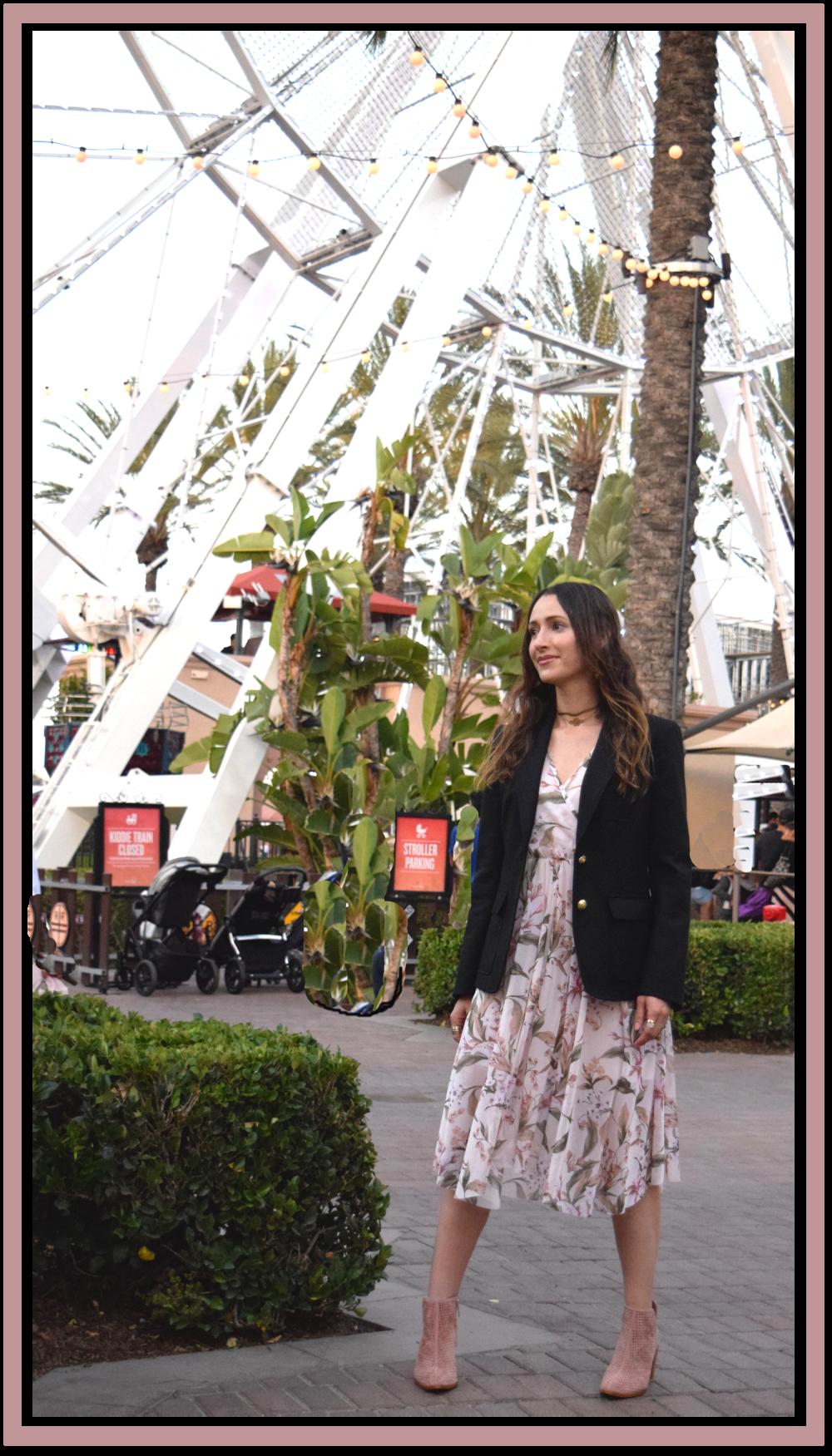 black.blazer-floral.dress-street.style