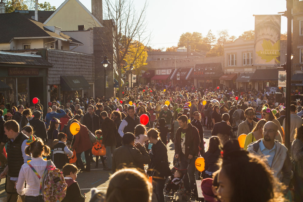 Maplewood Village Halloween Parade
