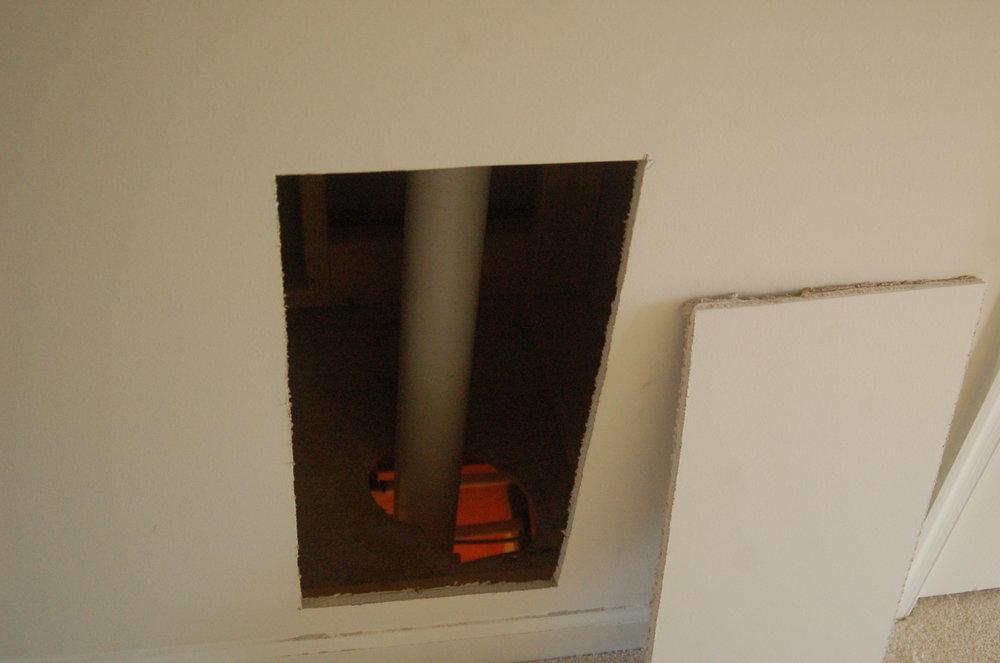Hidden pipes...