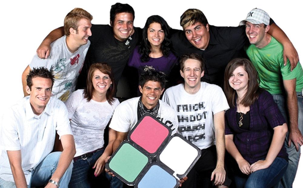 No Room For Wallflowers team, circa 2009.