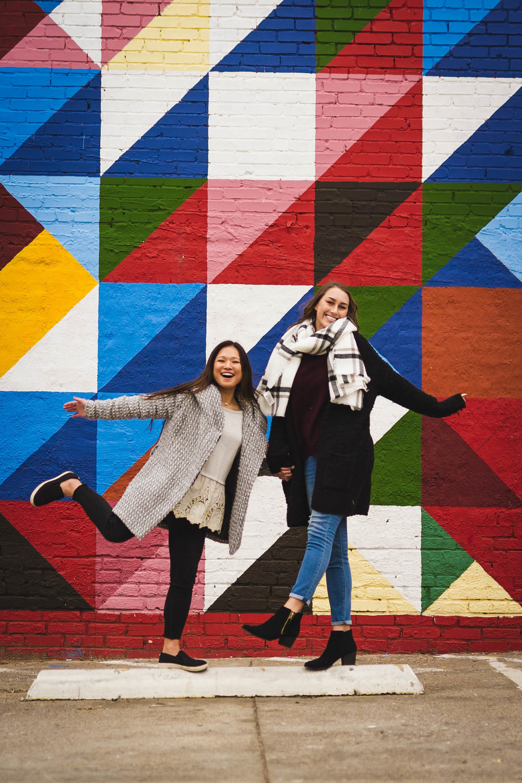 Olivia and Tessa -