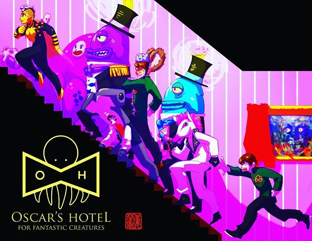 Oscar's Hotel from New Form Digital. Amazing and funkiness. Must indulge.