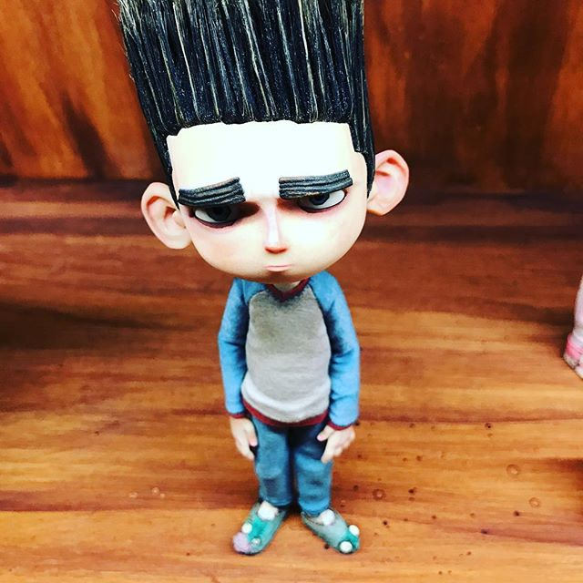 Laika's Exhibition. ParaNorman Sculpt. A Master of character expressions in figure development. #stopmotion #laikaentertainment