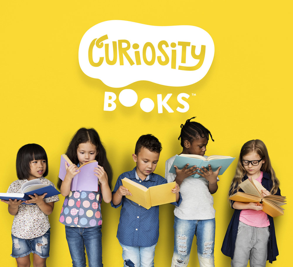 - An incredibly exciting and wildly varied children's publishing brand, Curiosity Books is soon to release our first offering of captivating stories in Fall of 2018 with both licensed and original books. Following closely on Fall's heels is a slate of even more stories destined for both Spring and Fall 2019!