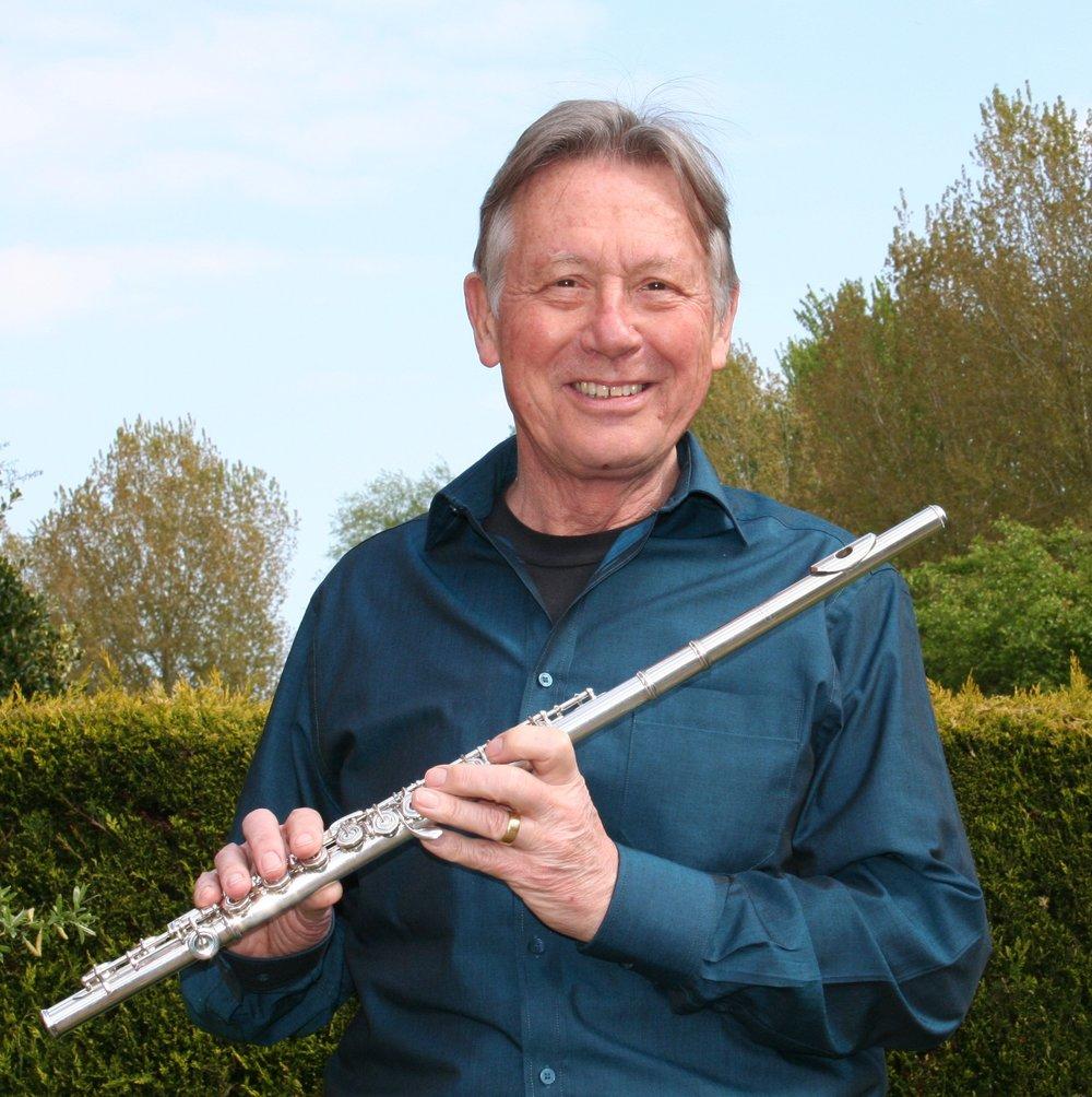 Duke Dobing, flute