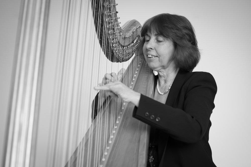 Miriam Keogh, harp