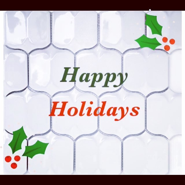 We hope everyone has a safe and happy holiday, from your friends at Avenue Mosaic.