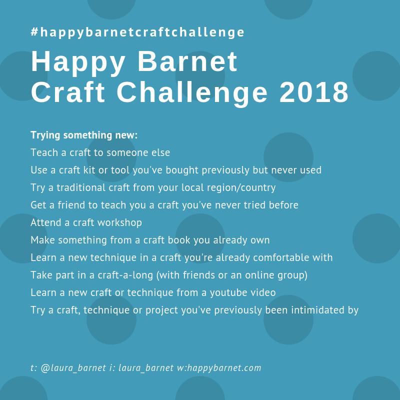 craft challenge try something new