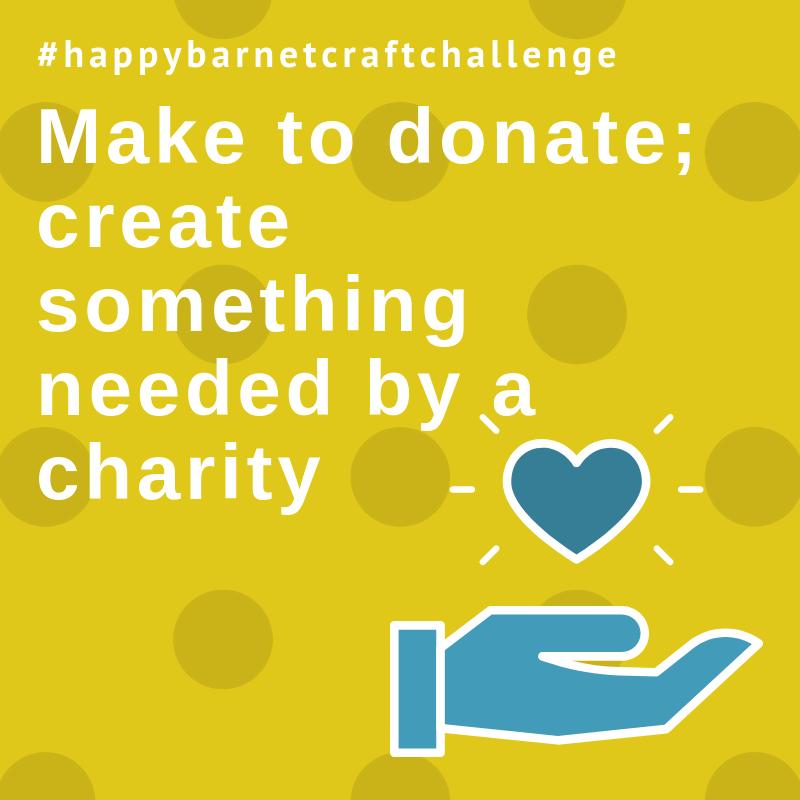 make to donate craft challenge