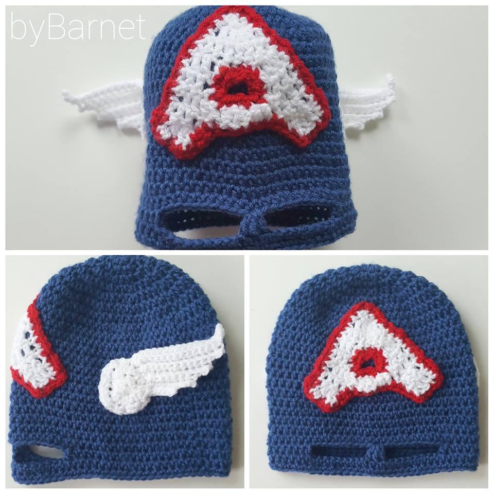 Crochet Avengers Hat