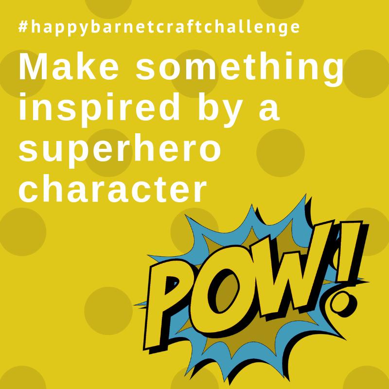 superhero craft projects