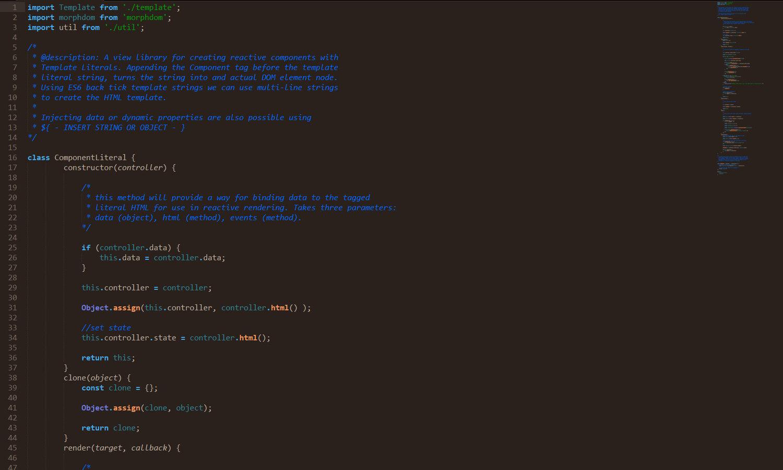 component literal ben obee uiux web designer developer seattle
