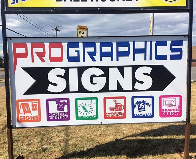 e4ac6676fa35 This snazzy new sign makes it even easier for our customers to find us. Come