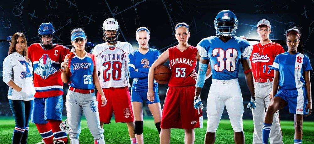 teamwear jerseys uniforms sports teams team