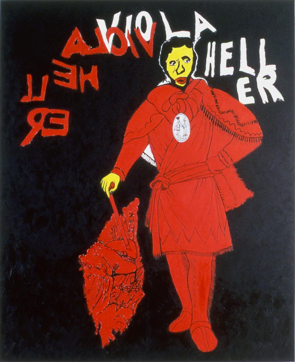Viola Heller's Red Jacket