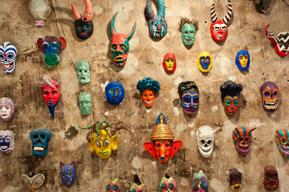 Jeff's mask wall