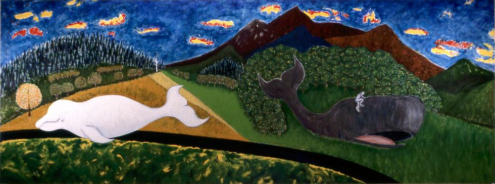 Landscape 2 ; 72x192; O/C; 1978