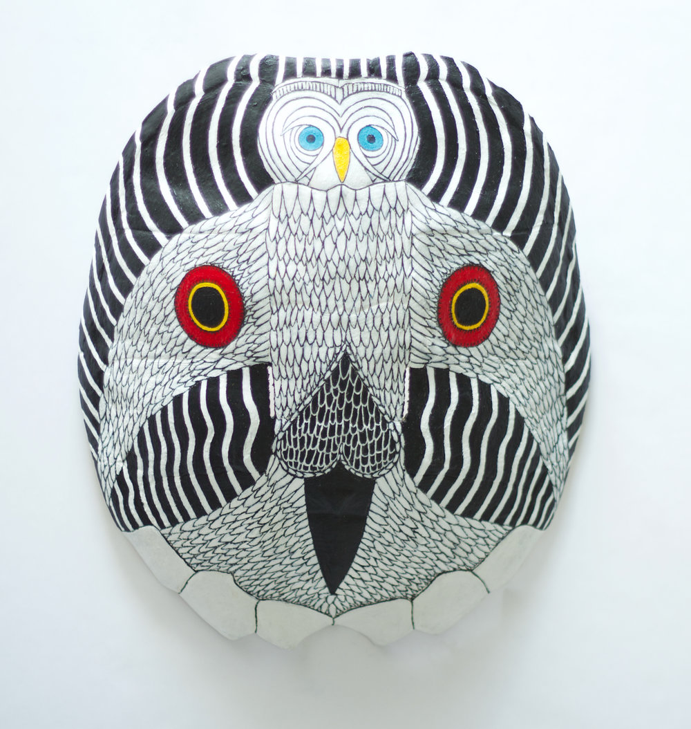 Turtle Owl Death Mask