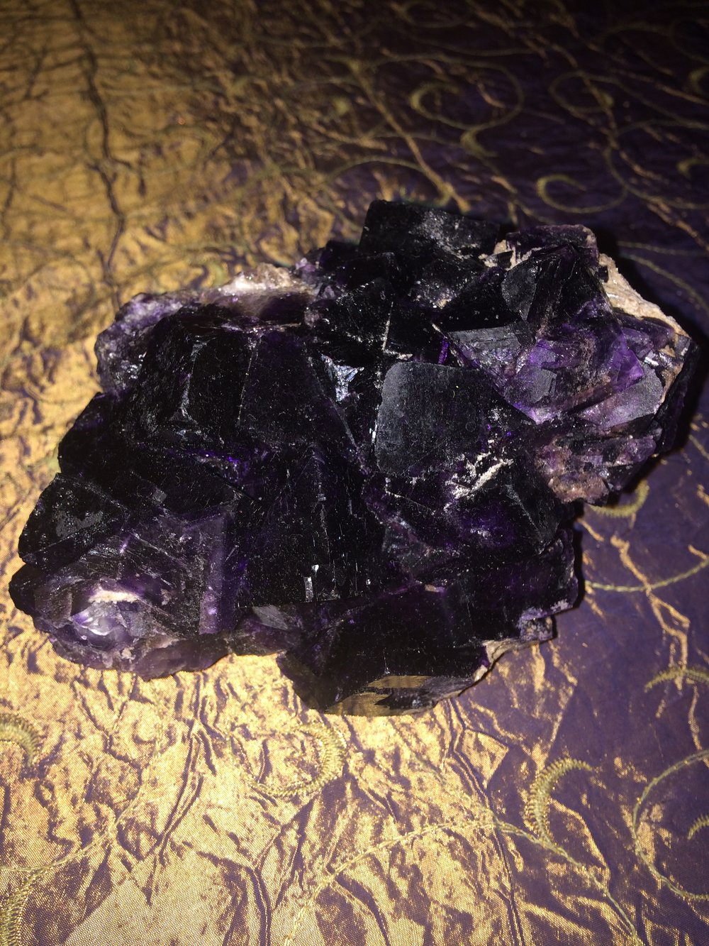 Fluorite from Mexico SQ12 6x3.5x4 $295.00