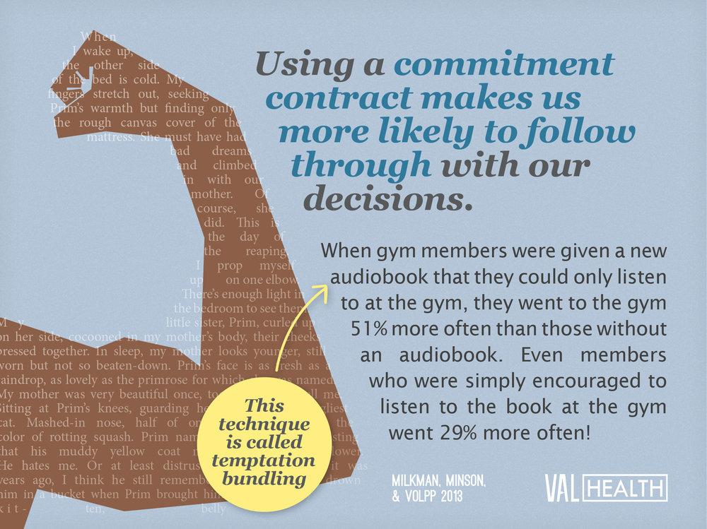 Copy of Copy of Behavioral Economics - Commitment Contract
