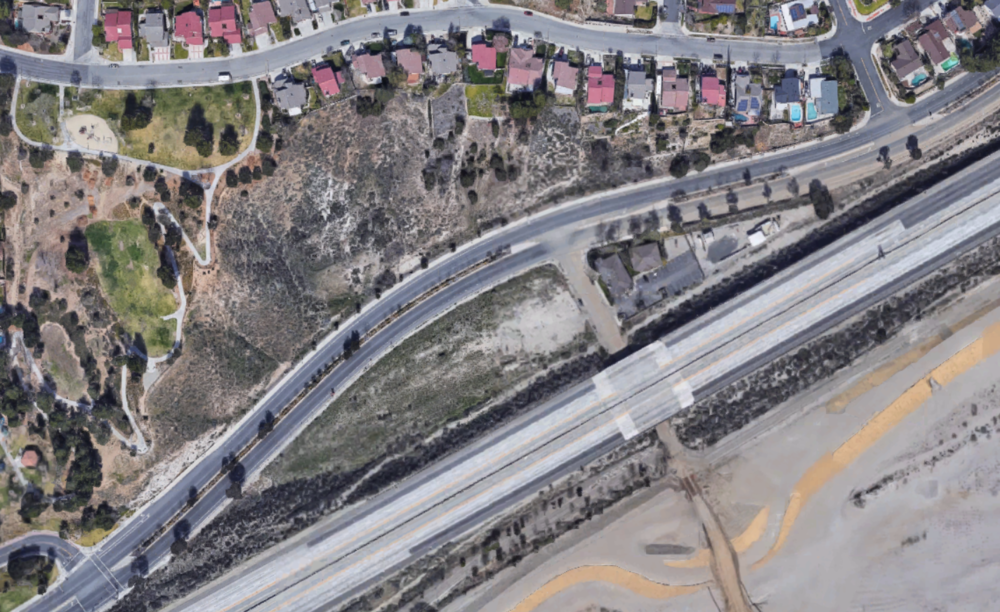 Lost Canyon and Soledad Canyon Vacant Lot.png