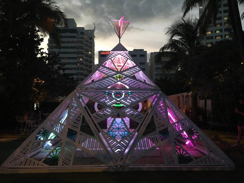 Future Clear Pyramid