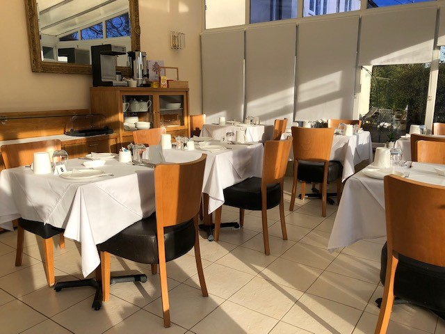 THE RESTAURANT   Our 4 Star Restaurant - evening meals are served every night