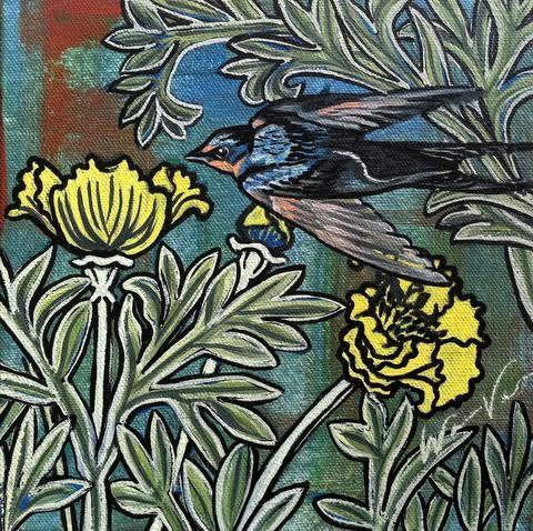 Darting Bird