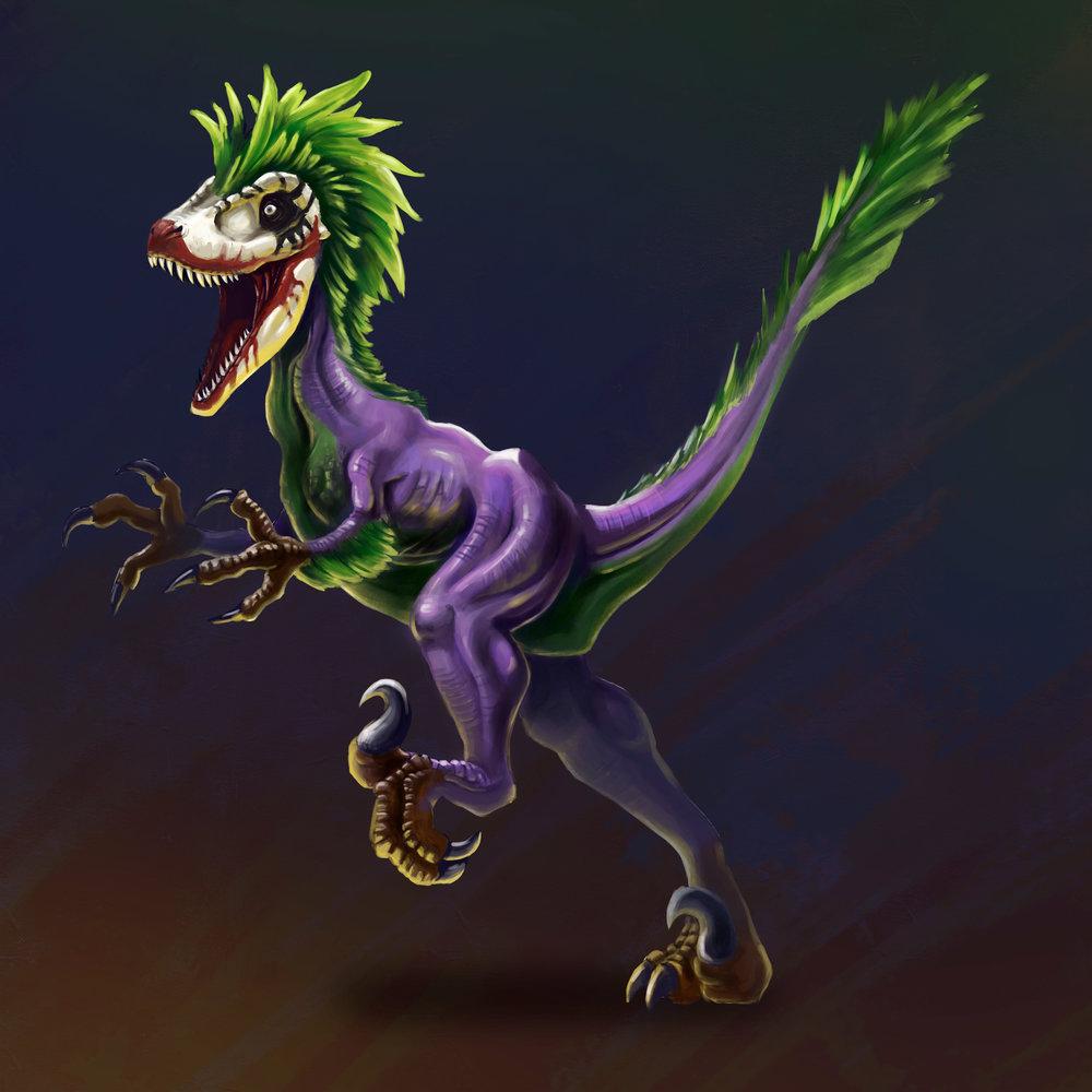 Joker Raptor