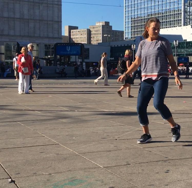 Lauren Dancing