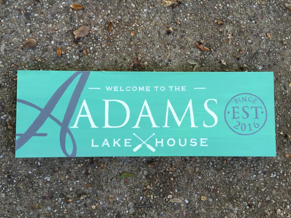 Established Sign Adams