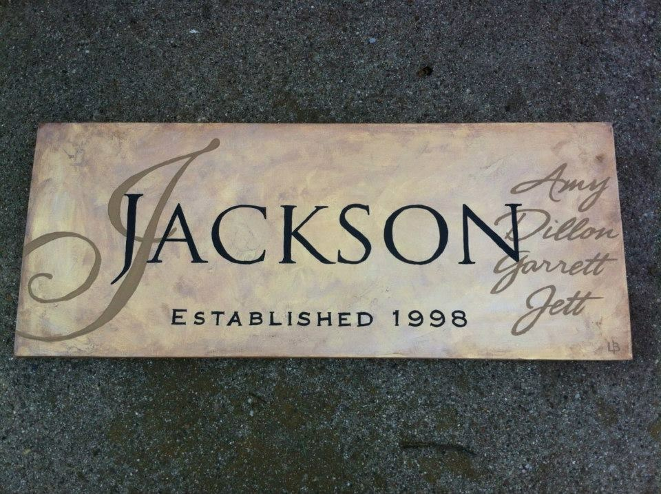 Established Sign Jackson
