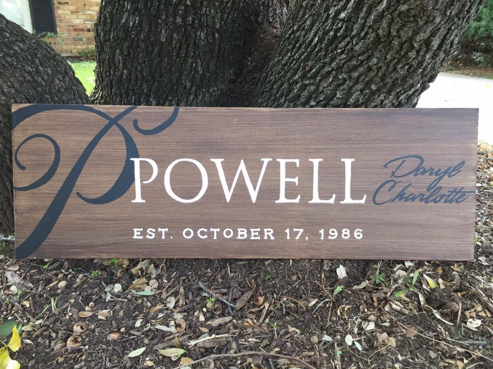 Established Sign Powell