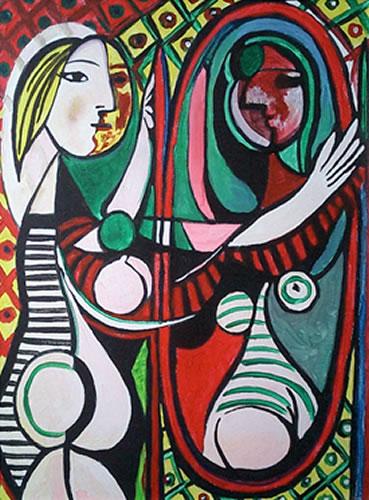 Picasso Mirror