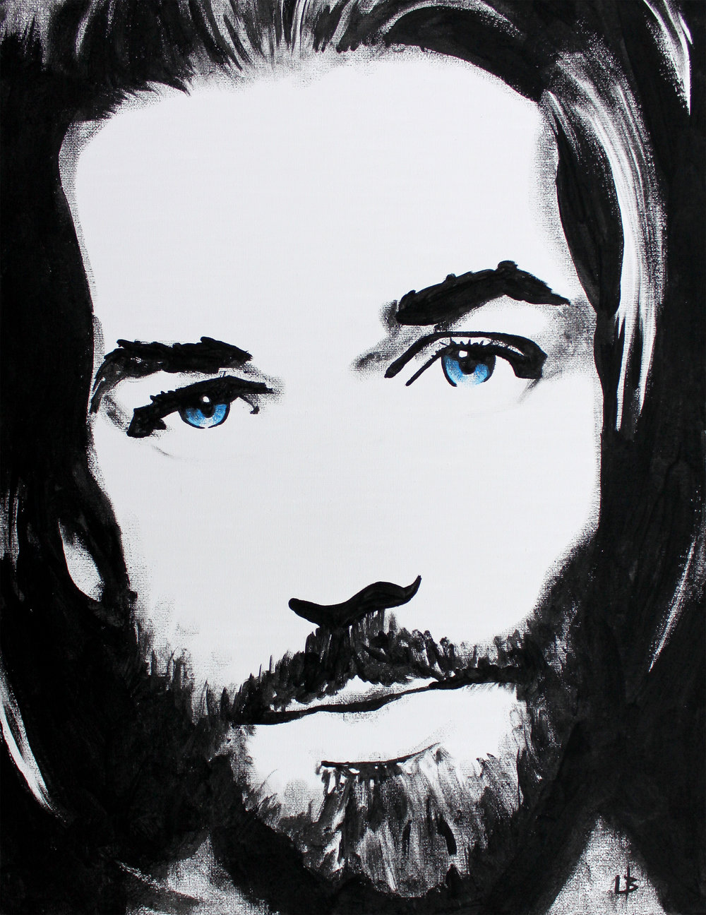 Follow Me - Painted Live - Portraits of Christ