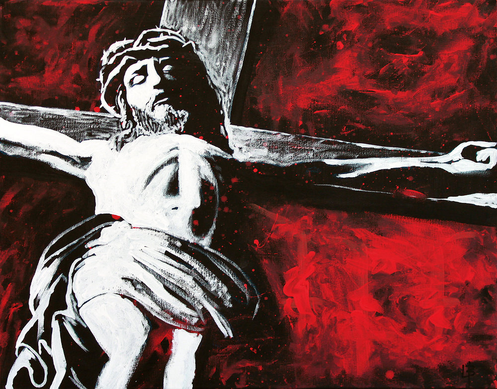 Crucified - Live Paintings of Jesus