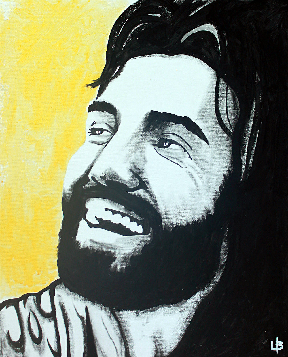 Joy Jesus - Live Jesus Painting