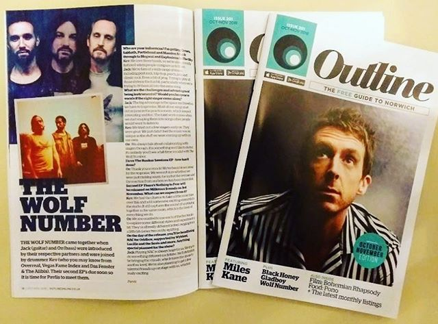 We did an interview for @outline_norwich check it  out and then listen to our music. Not an order, just a friendly suggestion 😂 but seriously listen to our music! X #norwichmusiccityuk #instrumental #music #outline #norwichlanes #uea #bands