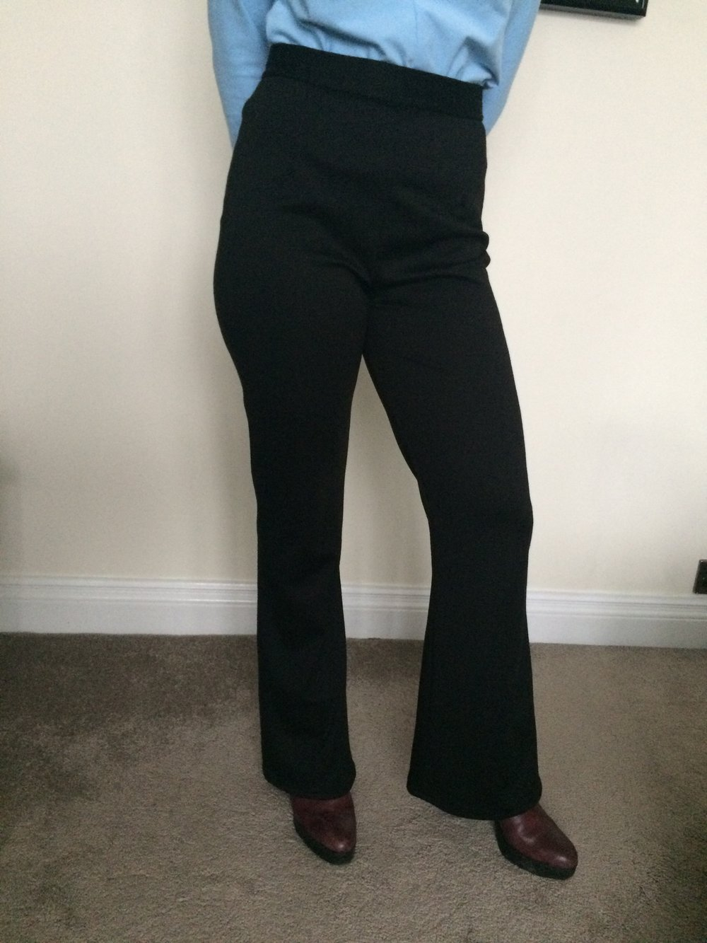 Mimi G for Simplicity 1283 flared trousers