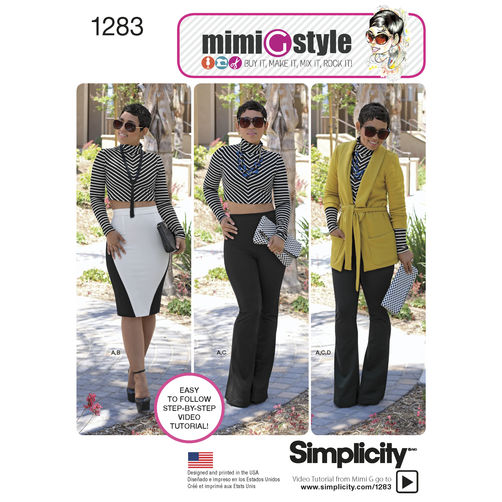Mimi G for Simplicity 1283