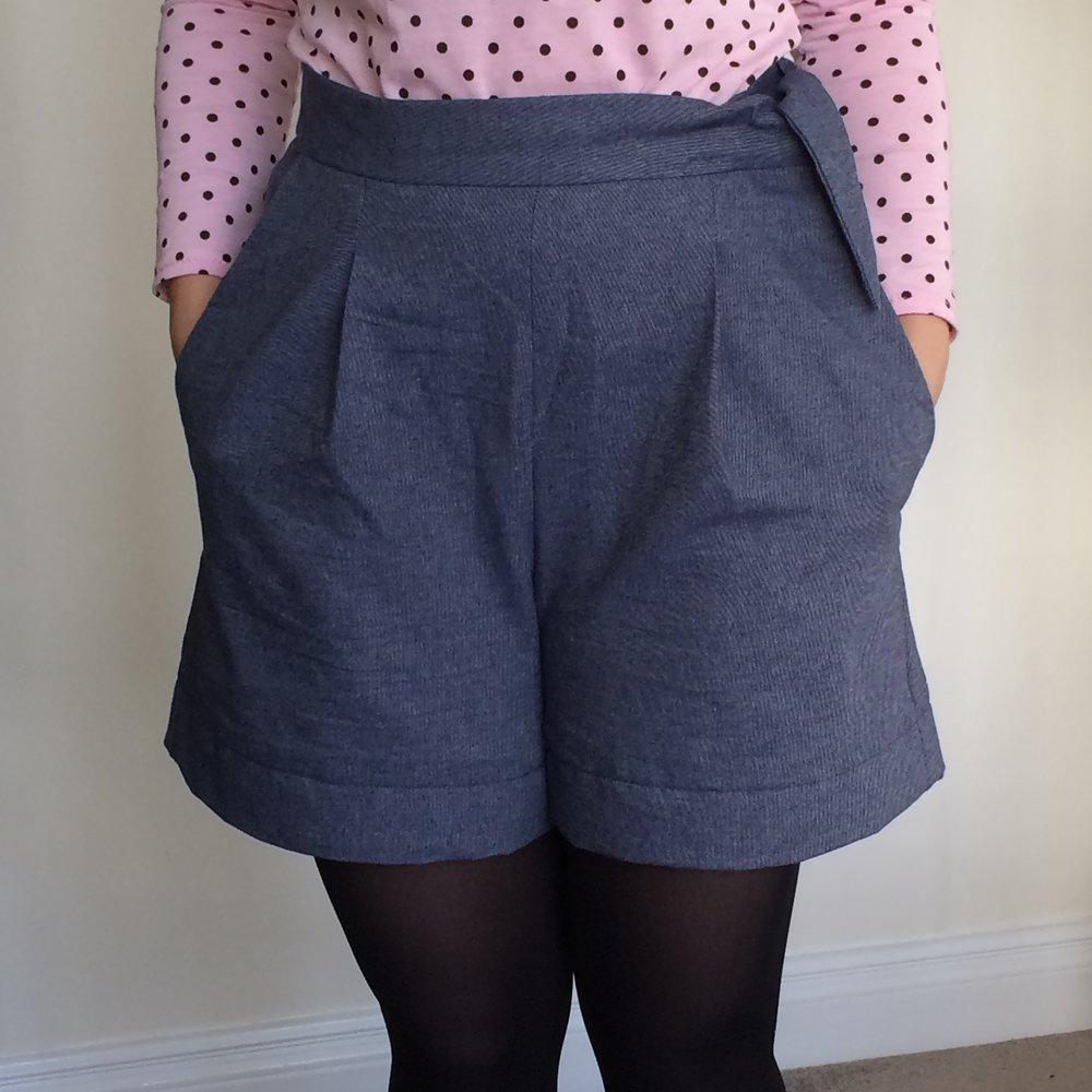 Flink Shorts - Megan Nielsen