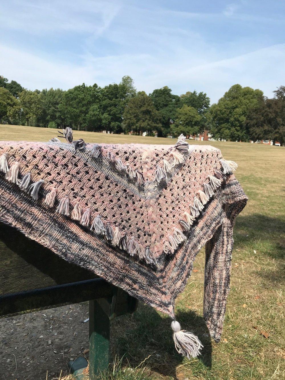 Ohra Shawl-Boyland-Knitworks