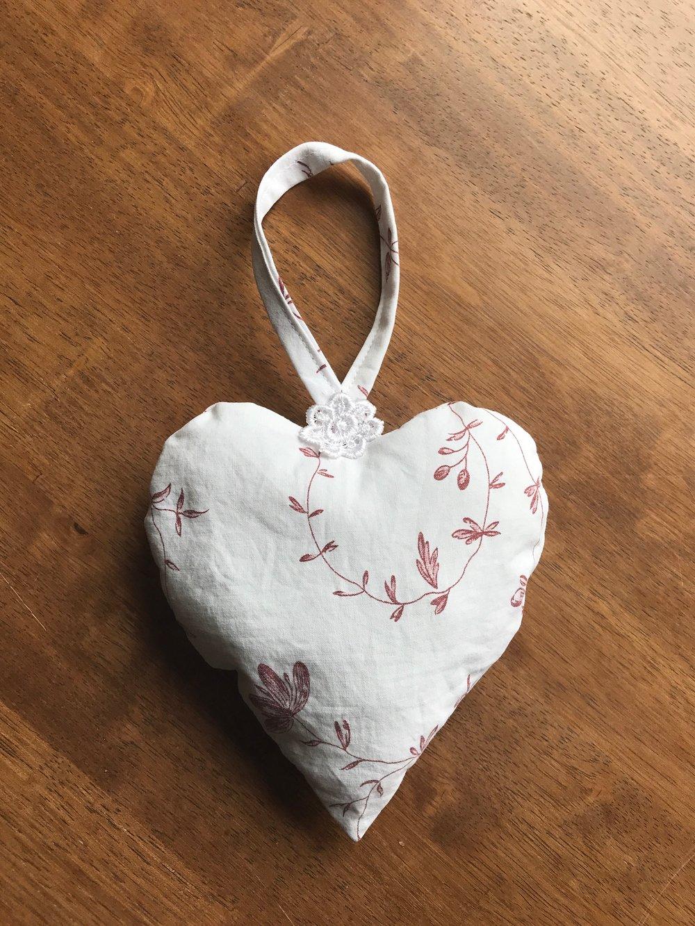 handing heart
