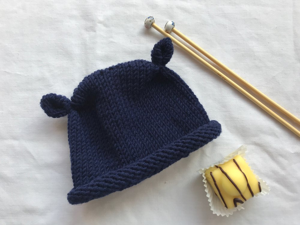 free baby knitting hat