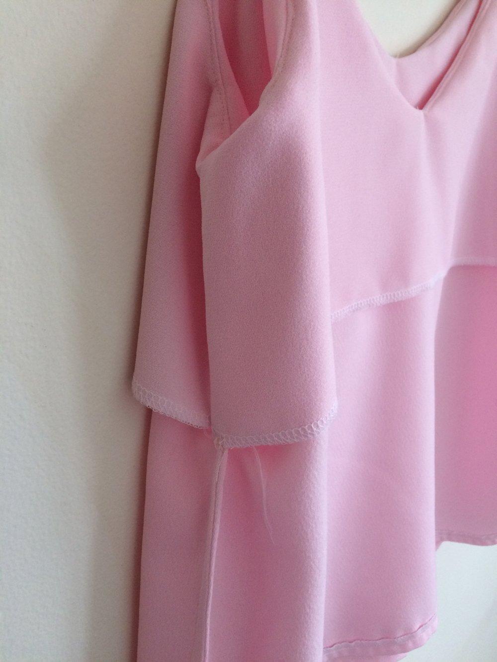 French seam-camisole