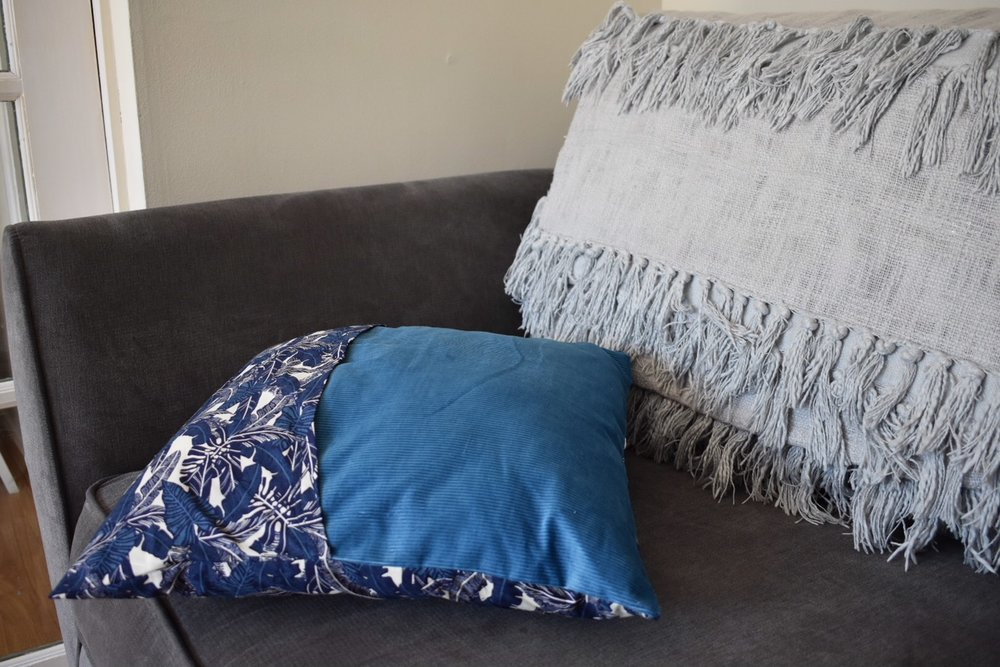 diy cushion cover
