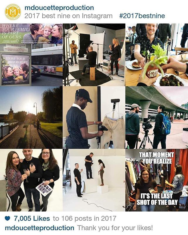 That's A Wrap For 2017!  Thanks to all our clients, crew, creatives and friends for a fun-filled year of memorable shoots. Wishing you and yours a happy and healthy New Year :) – Michele, Matthew & Everyone at MDP